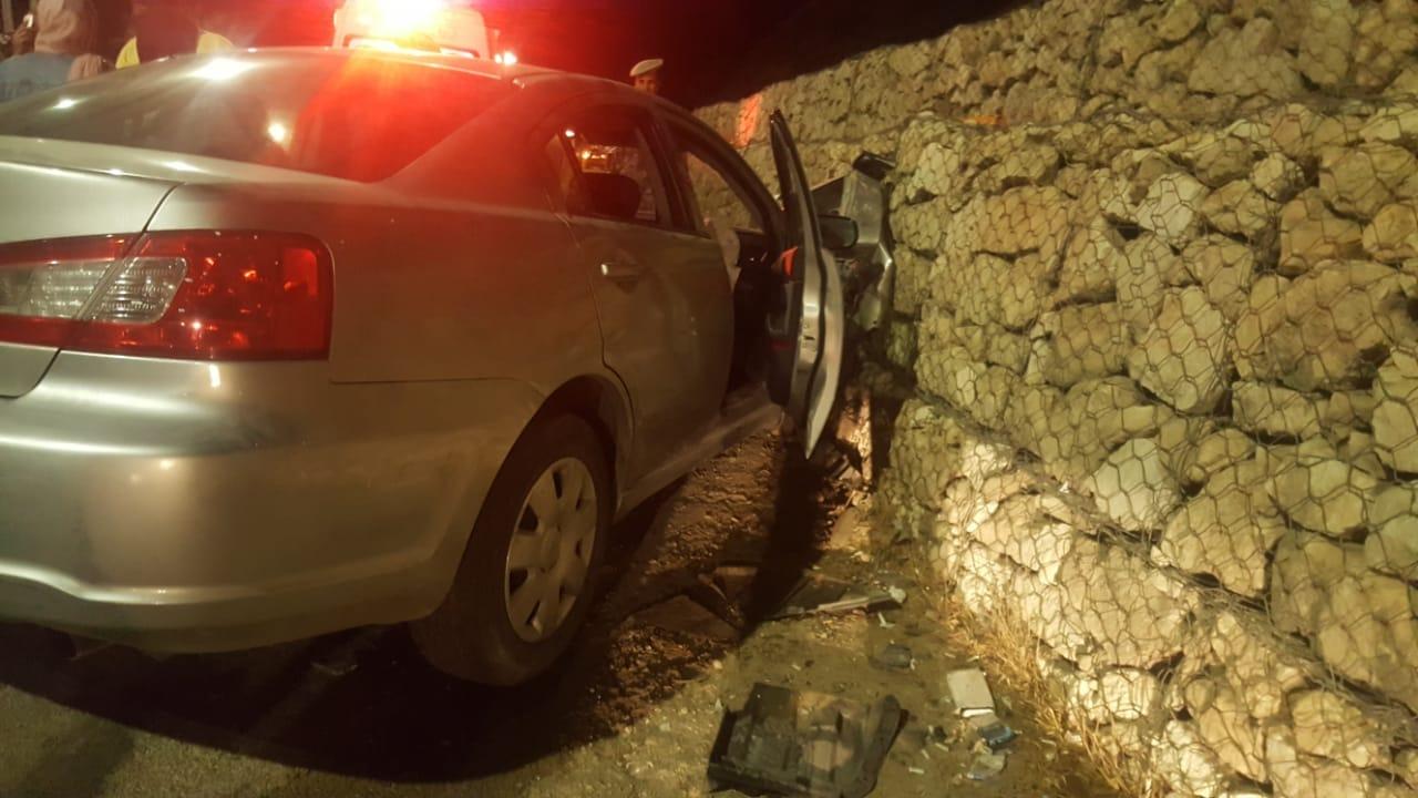 بالصور  .. إصابة (9) أشخاصاثر حادث تصادم في محافظةجرش