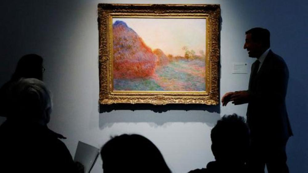 لوحة فنية تسجل رقماً قياسيا في المزاد العلني تباع بـ110 مليون دولار