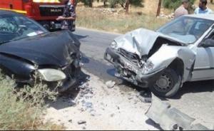 وفاة شخص واصابة (3) أخرين إثر حادث تصادم في اربد