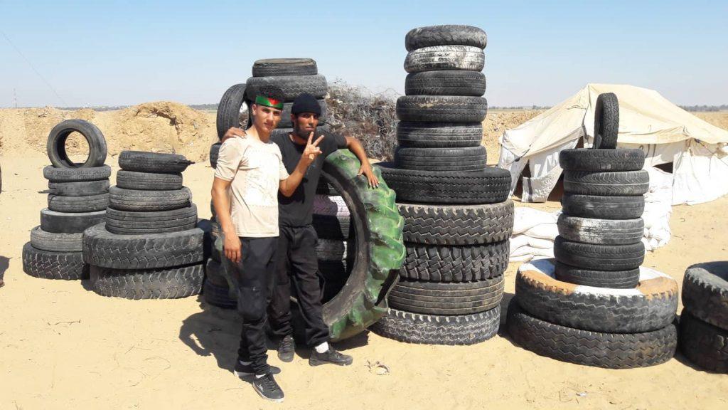 الفلسطينيون يتوافدون على حدود غزة للمشاركة في جمعة «الحرية والحياة»