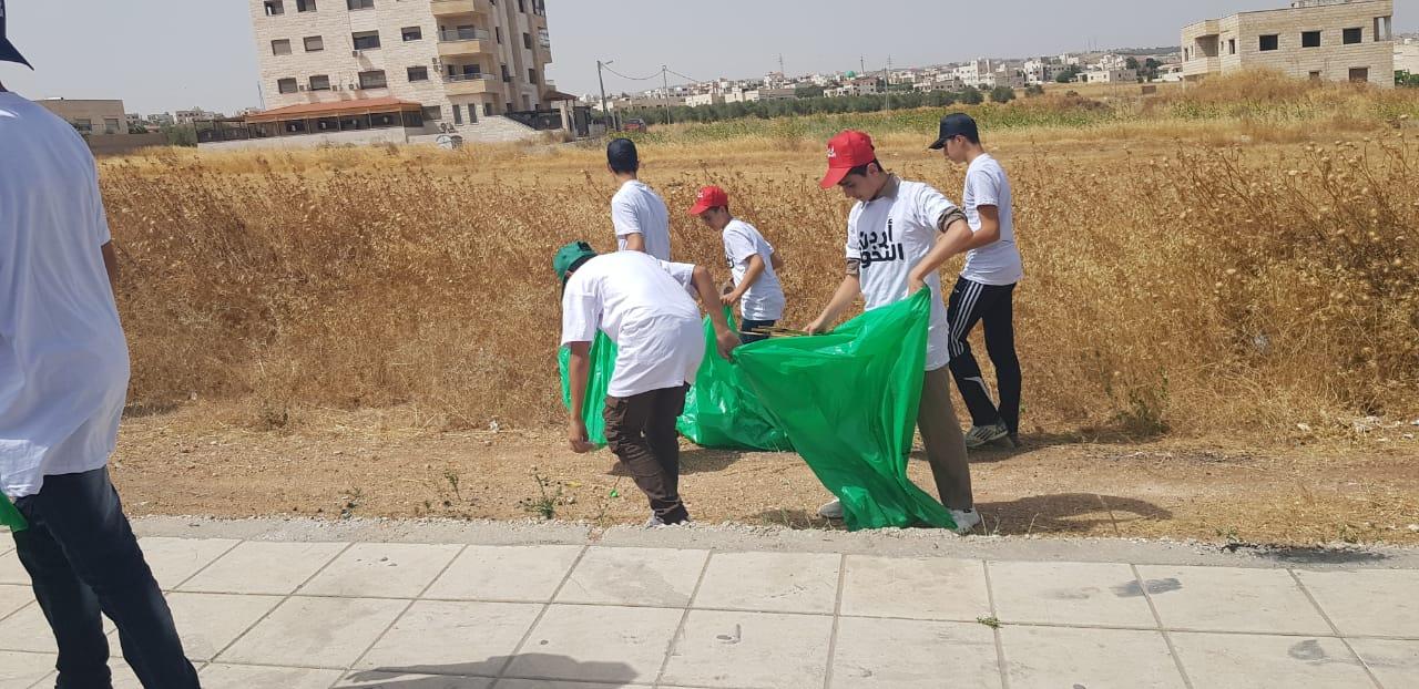 """وزارة البيئة تواصل حملتها الوطنية للنظافة ضمن مبادرة """"اردن النخوة"""" للمرة العاشرة  ..  صور"""