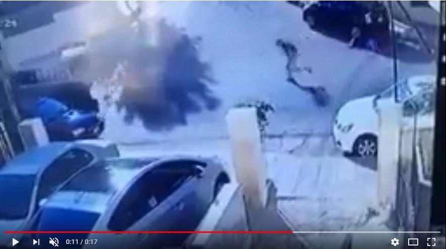 بالفيديو  ..  القبض على لص نشل حقيبة سيدة بصويلح ولاذ بالفرار