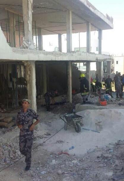 وفاة سوري بإنهيار مبنى في عبدون