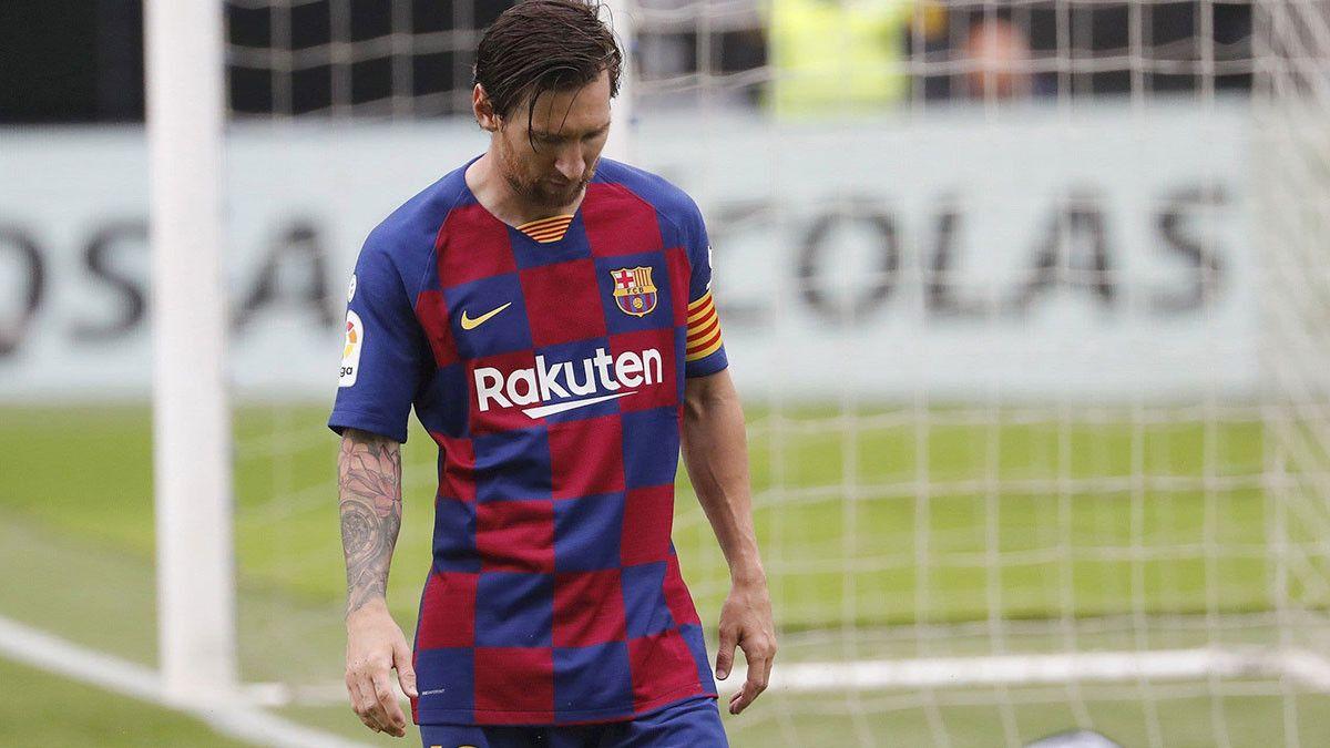 تطور جديد في أزمة ميسي مع إدارة نادي برشلونة