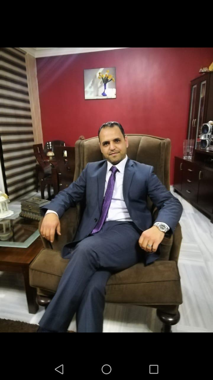 مبارك التعيين للقاضي قفطان عايد العدوان