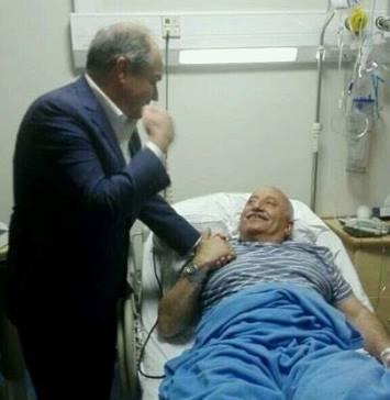 النائب خالد رمضان يتعرض الى وعكة صحية تدخله المستشفى