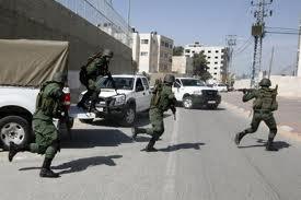 الأمن الفلسطيني يعمل لأول مرة  في القدس