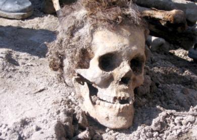 العثور على جثة  متحللة  في بني كنانة بالقرب من الحدود الأردنية السورية