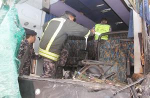 """الدفاع المدني يكشف الحصيلة النهائية لحادث """"الصحراوي""""  ..  تفاصيل"""