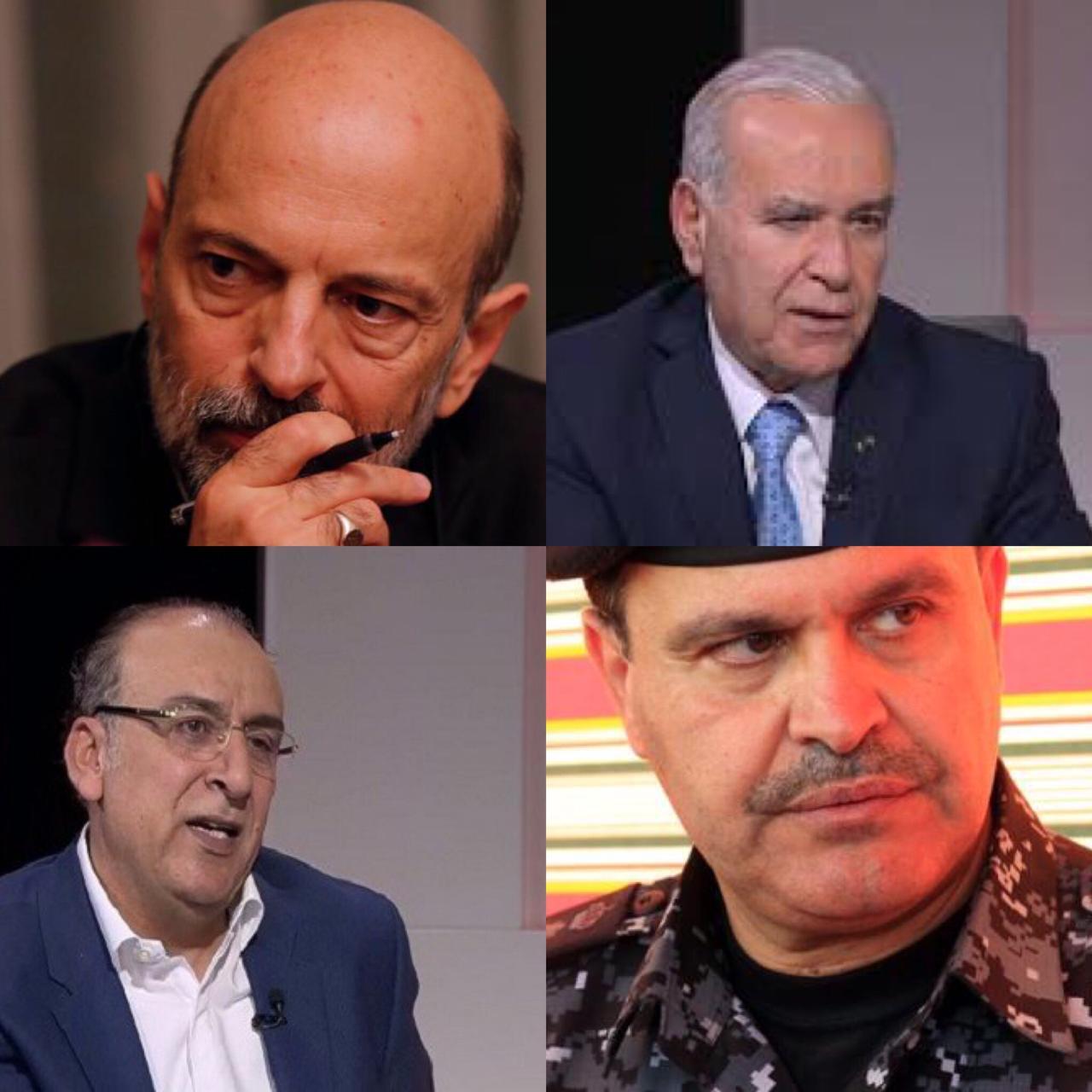 خلاف الرزاز والمعاني صب في مصلحة أبو يامين  ..  وحسين المجالي بديلاً لحماد