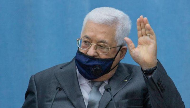 """الرئيس الفلسطيني"""" محمود عباس"""": """"نحن طلاب سلام لا حرب"""""""