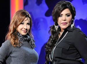 سر شجار نانسي عجرم وأحلام في كواليس Arab Idol