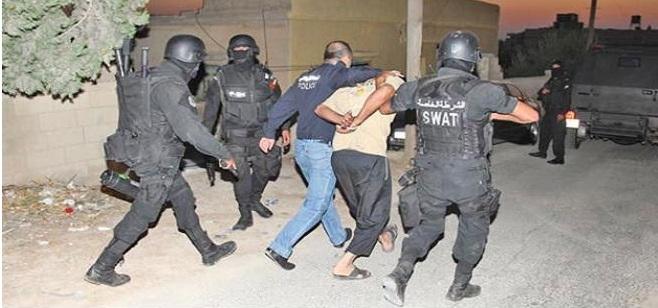 القبض على 6 مطلوبين بقضايا مالية كبيرة في العاصمة واربد