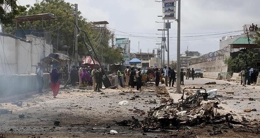 مقتل 10 أشخاص بتفجير قنبلة في الصومال