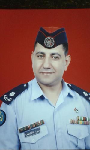 الملازم سليمان ابو نقطة مبارك الترفيع