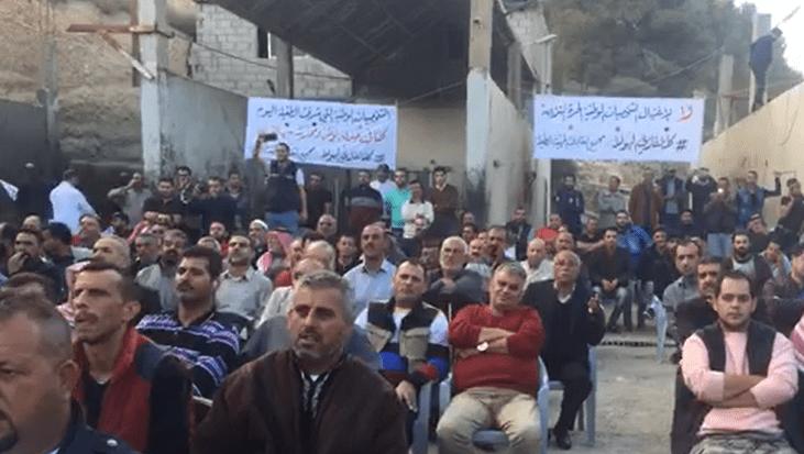 بالصور  .. مهرجان تضامني مع النائب الهواملة على خلفية اتهامه بقضايا فساد