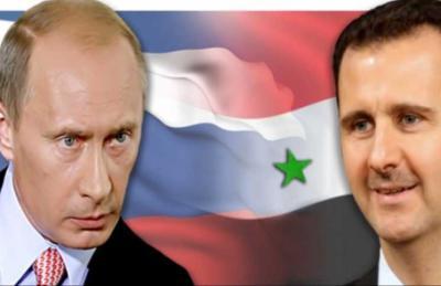 الكرملين ينفي وصحيفة بريطانية تؤكد: بوتين طلب من الأسد التنحي