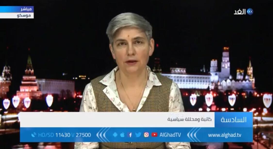 بالفيديو ..   سياسية روسية: وساطة موسكو مع الفصائل الفلسطينية ناجحة .. وواشنطن تراهن على الانقسام