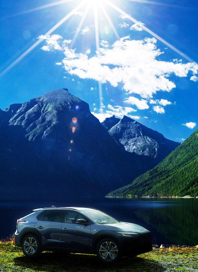 سوبارو سولتيرا SUV الكهربائية الجديدة كلياً تكشف نفسها