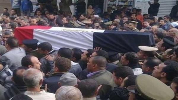تشييع جثامين العمال المصريين الذين توفوا ببئر ماء في المفرق