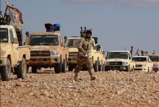 جيش مغاوير العشائر يتصدى لهجوم ميليشيات ايرانية قرب الحدود الأردنية