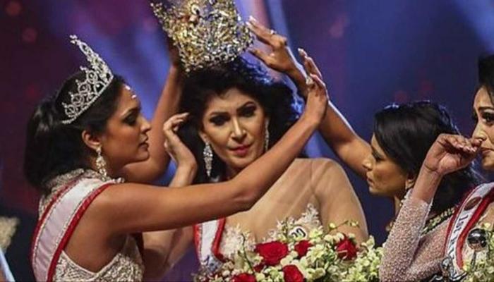 سحب تاج ملكة جمال المتزوجات بسريلانكا وإعادته مرة أخرى