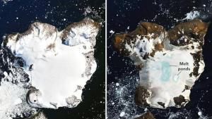 """بصورتين بينهما أسابيع فقط ..  ناسا ترصد الكارثة الحقيقية في """"قعر الأرض"""""""