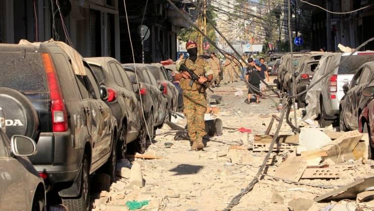 لبنان يهدد اسرائيل إذا ثبت ضلوعها في الانفجار