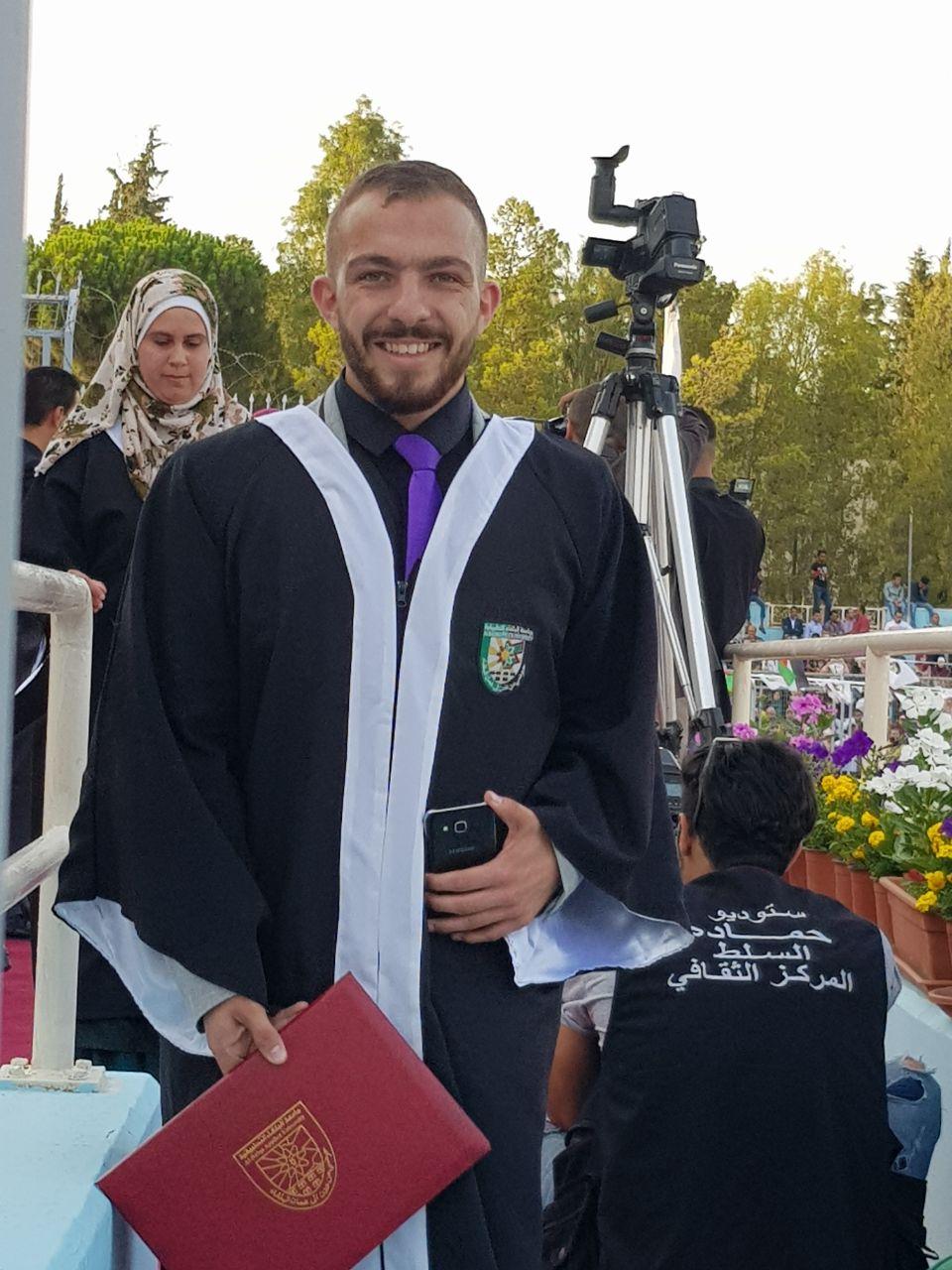 سمير الزبن مبارك التخرج