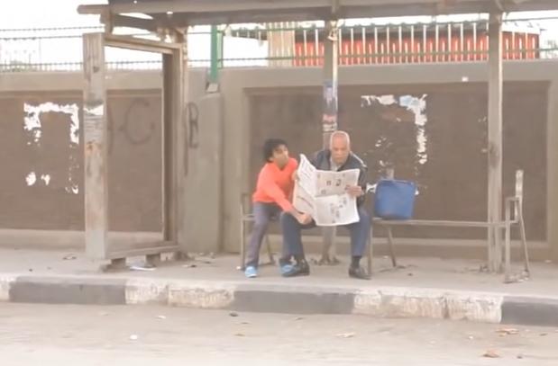اقوى مقالب لشاب مصري في الشارع