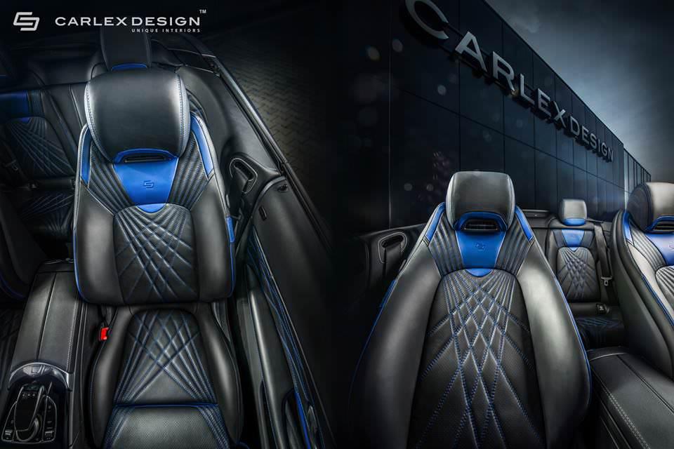 بالصور  ..  Carlex Design تهاجم داخلية مرسيدس سي كلاس كشف
