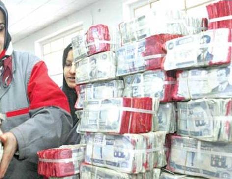 إحباط محاولة تهريب 580 مليون دينار عراقي عبر منفذ طريبيل إلى الأردن