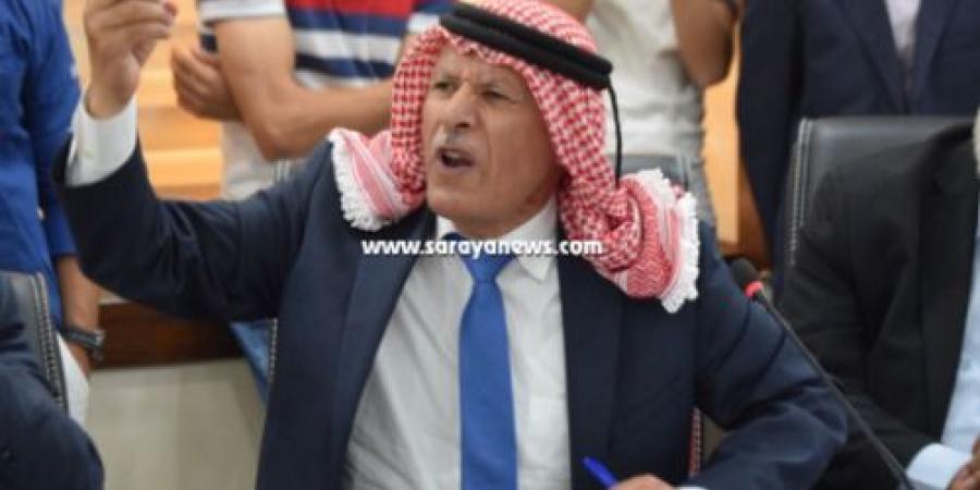"""العرموطي لسرايا: اين السلاح الذي ضبط بحوزة المتسلل الصهيوني  ..  ويؤكد : 3 اشهر و """"بطلع"""""""
