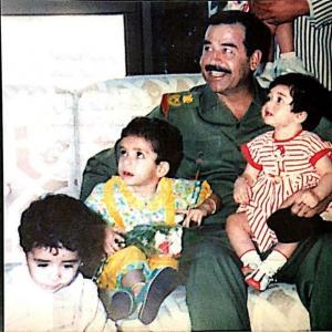 """بالصور  ..  """"حفيدة صدام"""" تكشف أسرار عائلة الرئيس العراقي الراحل والمؤامرات على العراق"""