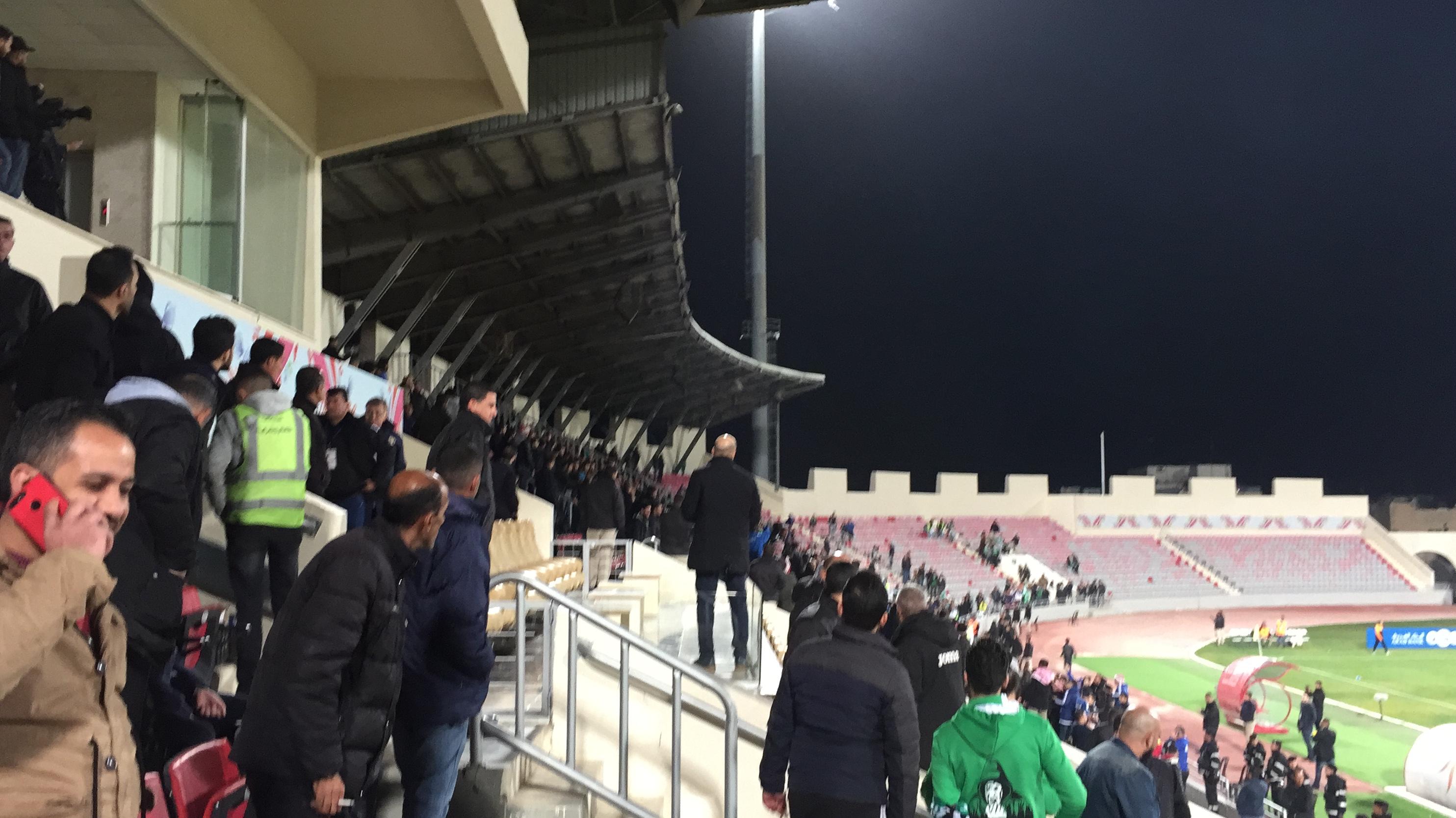 نادي الوحدات لسرايا : لن ندفع غرامة تكسير كراسي ملعب القويسمة لأمانة عمّان  - وثيقة