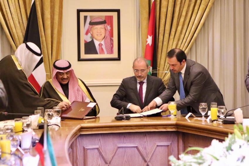 توقيع (14) اتفاقية ومذكرة تفاهم بين الأردن والكويت واتفاقية منحة بقيمة 6 مليون دولار أمريكي