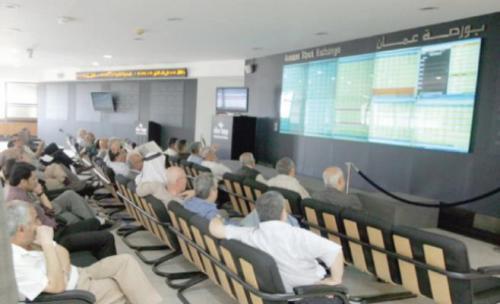 5ر20 مليون دينار حجم التداول الاسبوعي لبورصة عمان