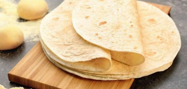 طريقة عمل خُبز الشاورما