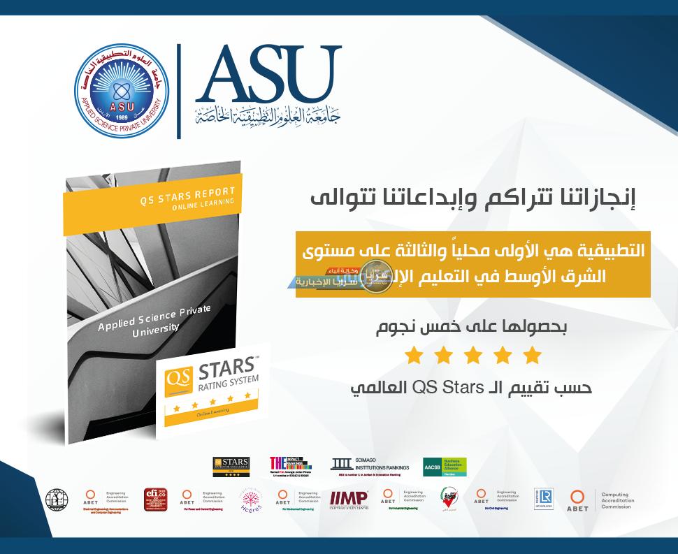 التطبيقية هي الأولى في التعليم الإلكتروني محلياً حسب تقييم الـ QS Stars العالمي