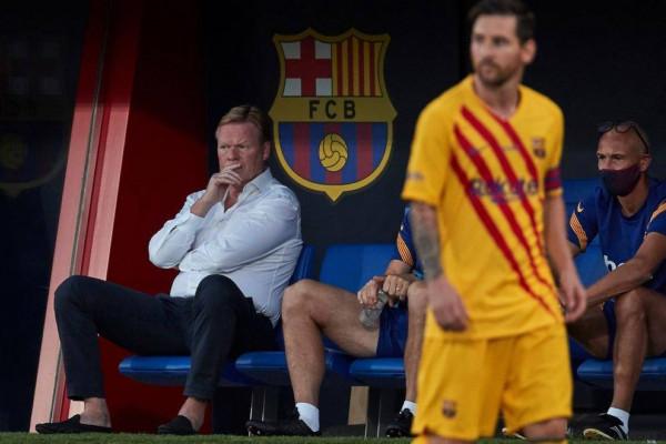 كومان: برشلونة ليس مرشحًا للفوز بدوري أبطال أوروبا