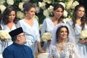 ملكة جمال روسيا تنفي طلاقها من ملك ماليزيا ..  وهذا ما كشفه محامي الزوج!