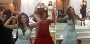 بالفيديو.. عروس عربية وصديقاتها يُذهلن العريس والحضور بوصلة رقص رائعة