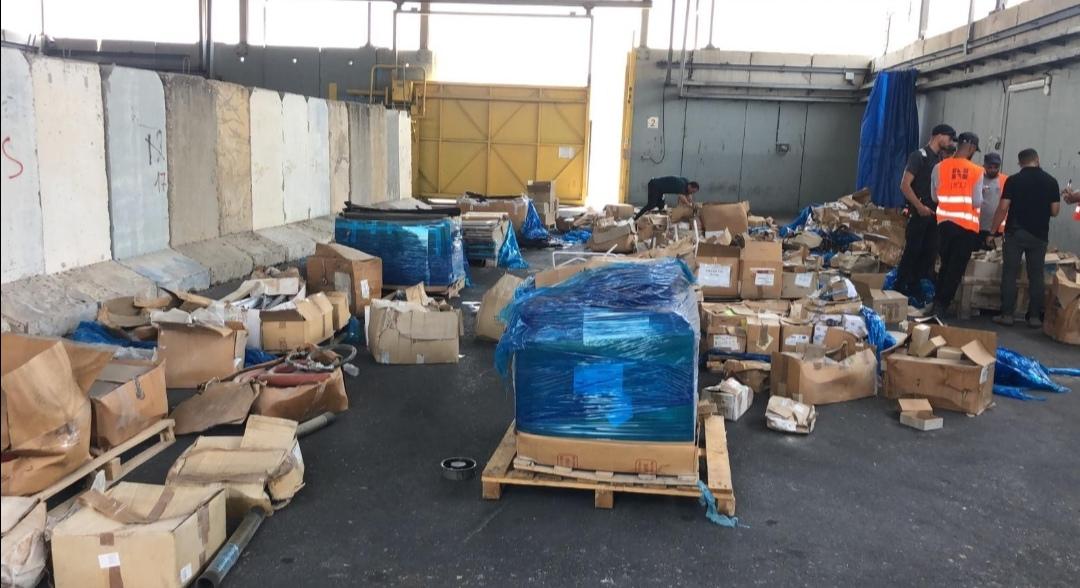 الكيان الصهيوني: إحباط تهريب معدات من الضفة إلى غزة ..  صور