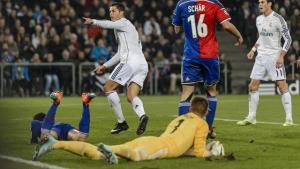 ريال مدريد يكسر عناد بازل بهدف يتيم من كريستيانو رونالدو
