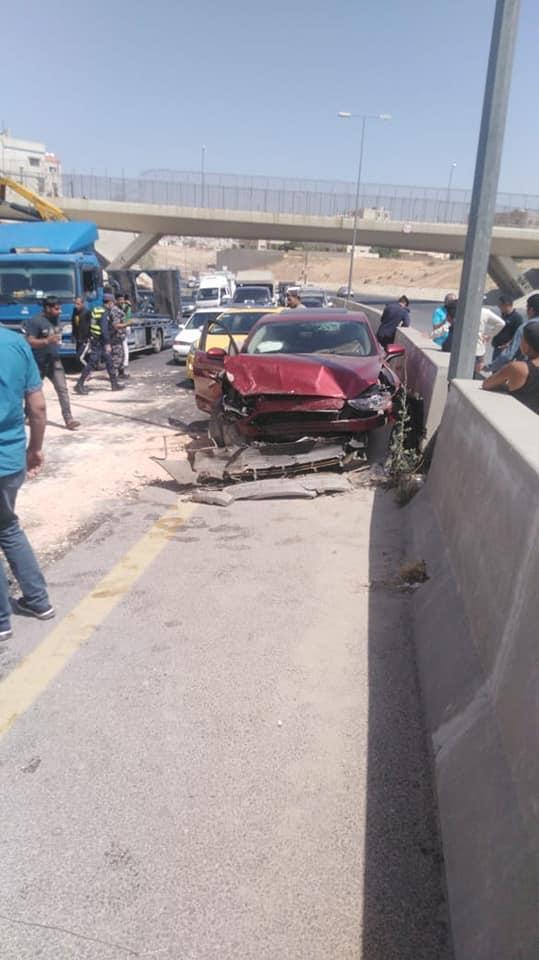 وفاة شخصين و إصابة آخر إثر حادث تصادم في الزرقاء