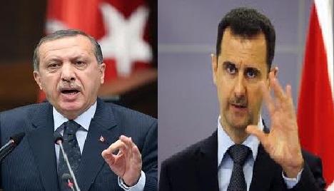 الأسد يتهم تركيا بدعم الإرهاب وأردوغان يرد