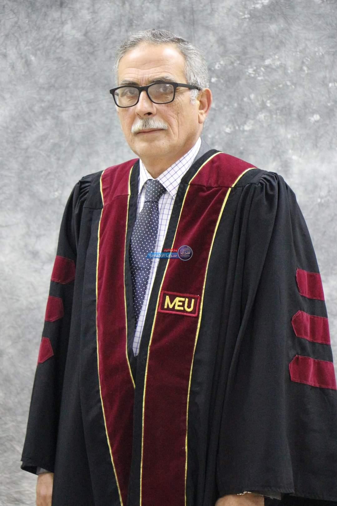 تهنئة للدكتور أحمد عريقات بمناسبة ترفيعه لرتبة أستاذ مشارك