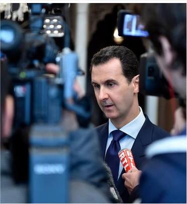 الأسد معلقا على قصف حلب: كل حرب تنطوي على دمار وقتل