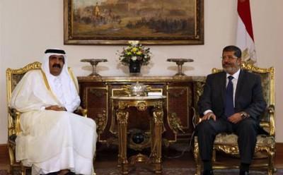 شاهد: موقع سورى يسرب مكالمة بين مرسى وأمير قطر