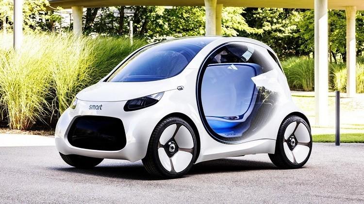 ابتكار سيارة دون مقود ودواسات